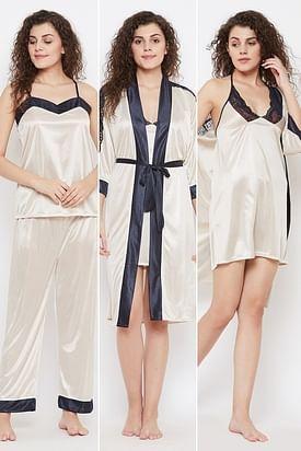 Bridal Nightwear Nighty Night Dress For Honeymoon Online In India Clovia,Dip Dye Wedding Dress Black