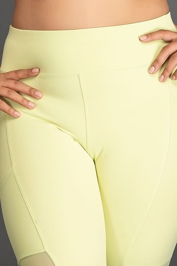 Back listing image for Activewear Gym/Sports Tights in Neon Green