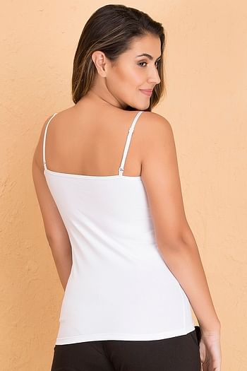 Back listing image for Cami Top in White - Cotton