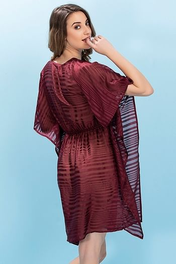 Back listing image for Chiffon Kaftan Style Beachdress