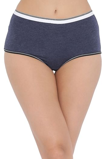 Front listing image for Cotton High Waist Hipster Panty