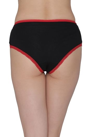 Back listing image for Cotton Mid Waist Hipster Panty