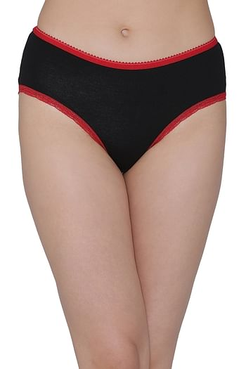 Front listing image for Cotton Mid Waist Hipster Panty