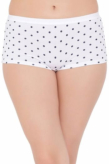 Front listing image for Cotton Mid Waist Printed Boyshorts