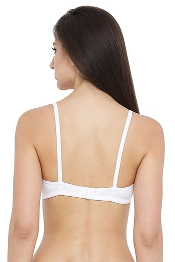 Back listing image for Non-Padded Non-Wired T-Shirt Bra - Cotton Rich