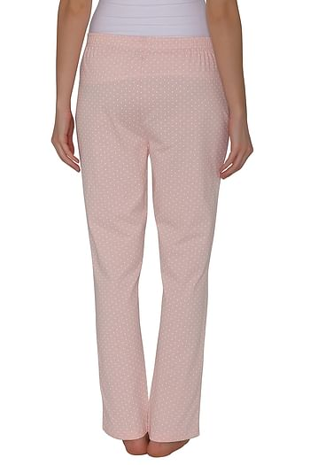 Back listing image for Cotton Rich Polka Print Pyjama In Pink