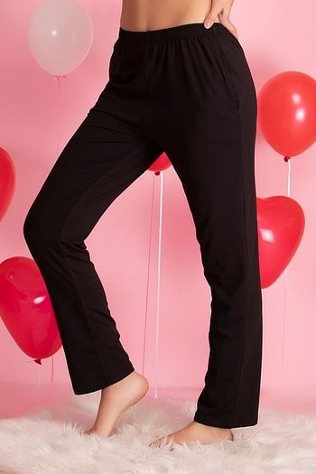 Back listing image for Cotton Rich Pyjama In Black