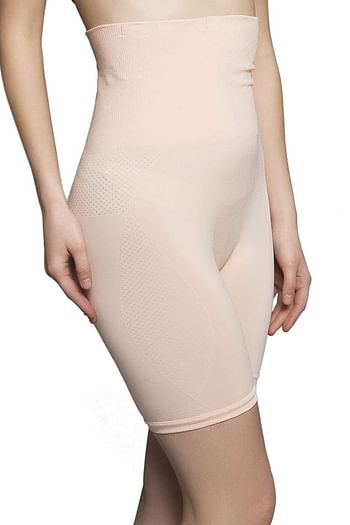 Front listing image for 4-in-1 shaper in Peach - tummy, back, thighs, hips