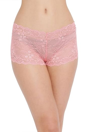Front listing image for Lace Low Waist Boyshorts