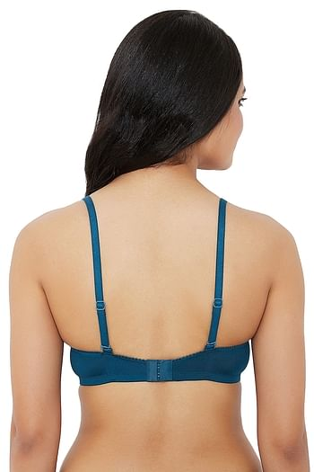 Back listing image for Lightly Padded Non-Wired T-Shirt Bra in Dark Blue