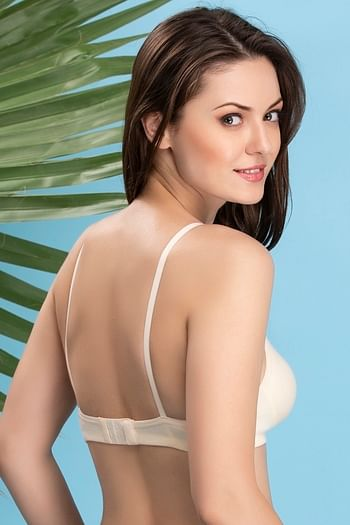 Back listing image for Non-Padded Wirefree T-shirt Bra - Skin