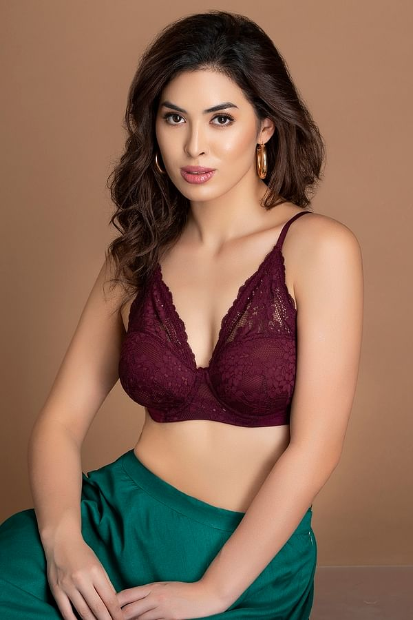 Buy Cotton Padded Underwired Bra Online India, Best Prices