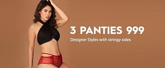 3 Panties for 999