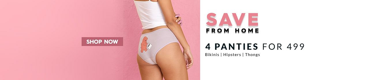 4 Panties Set at Rs.499