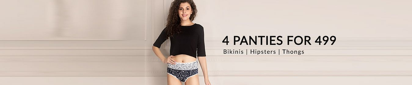 4 Panties Set at Rs.499