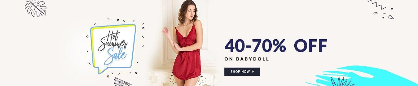 Babydoll 40 - 70% Off