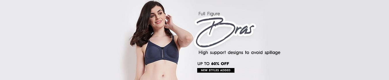 Full Figure Bra Upto 60% Off