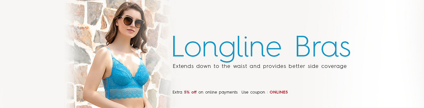 Longline Bra