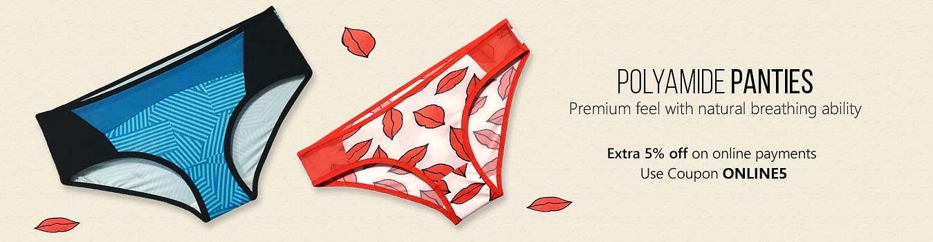 Polyamide panties