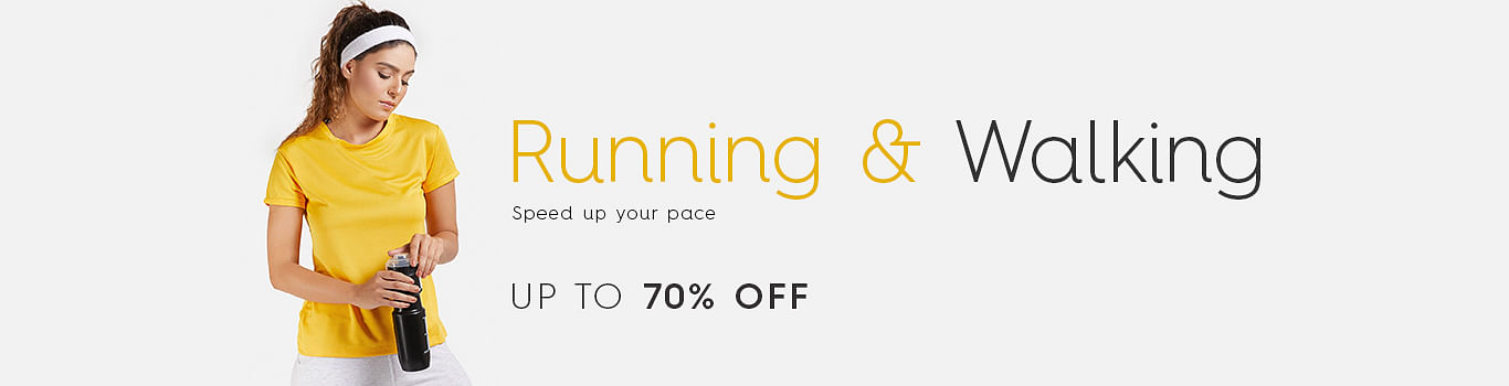Women Running & Walking Wear Shopping