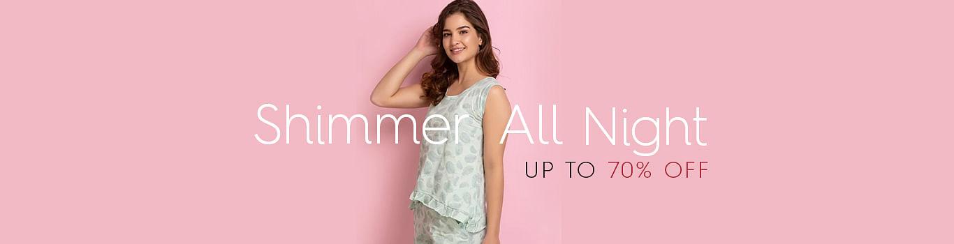 Shimmer Nightwear