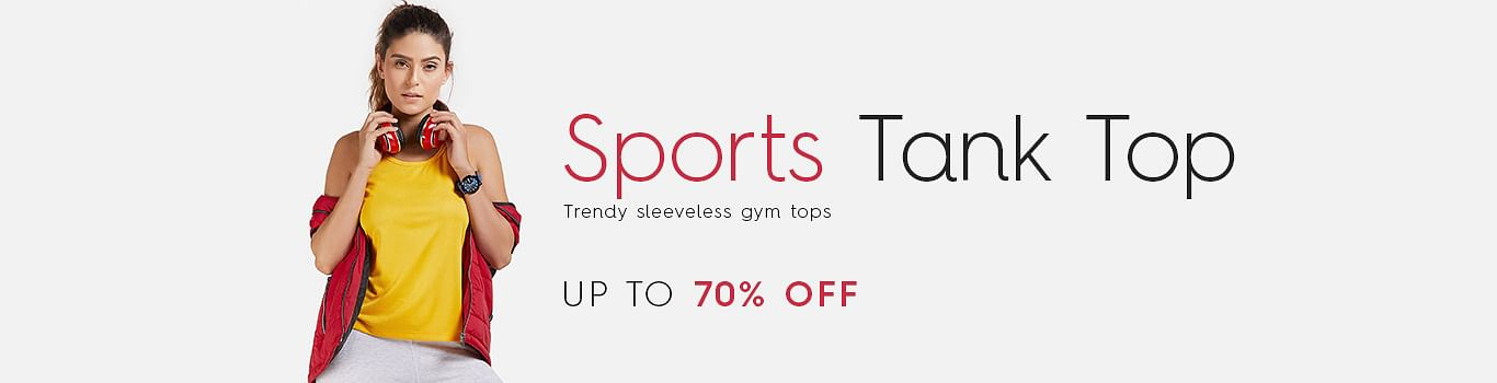 Women Sports Tank Top Shopping