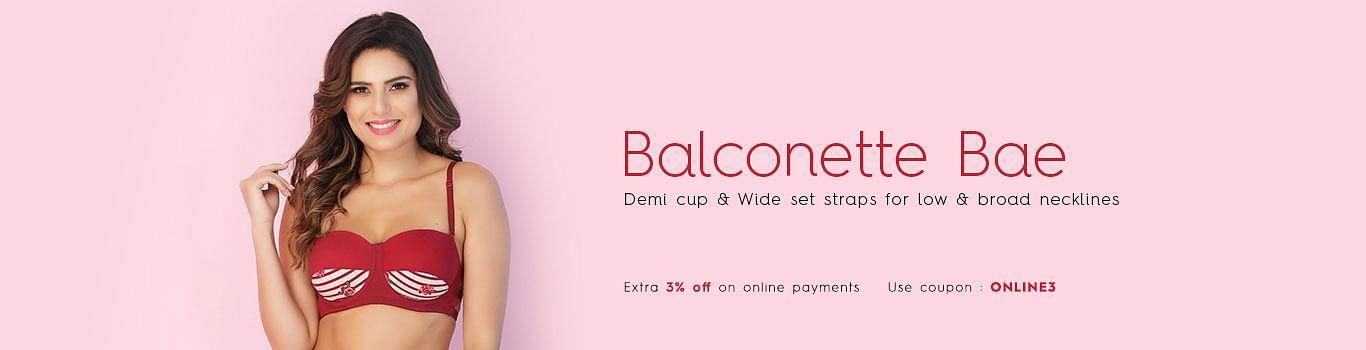 Balconette Bra