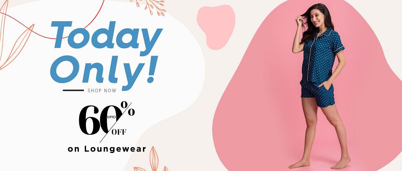 clovia.com - Get Up to 60% Discount on Loungewear