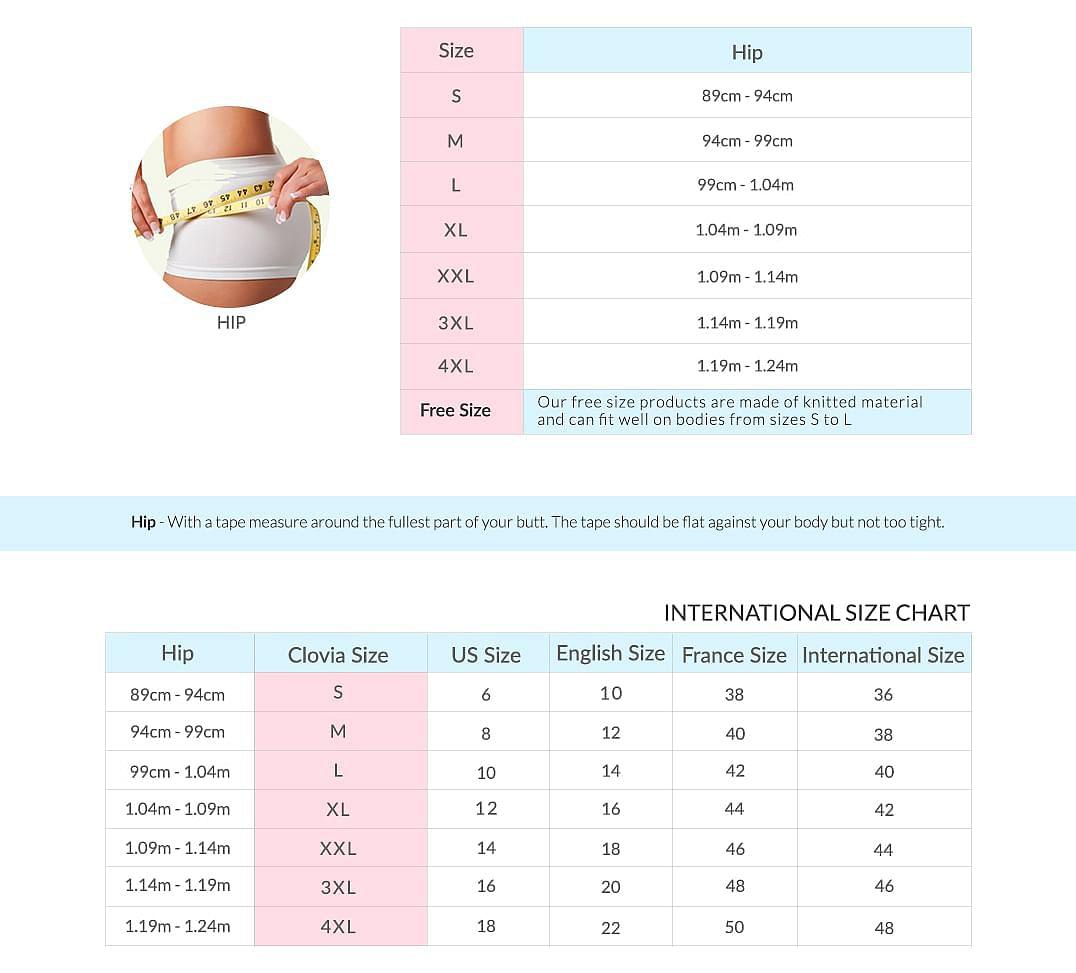 women size chart 3